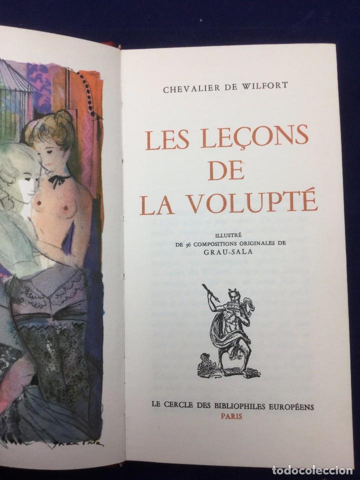 Libros de segunda mano: ERÓTICA. CHEVALIER DE WILFORT. LES LEÇONS DE LA VOLUPTÉ. 1969 - Foto 2 - 103933895