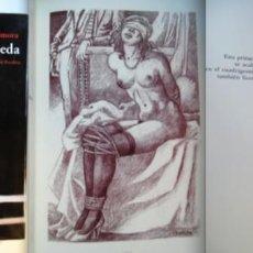 Libros de segunda mano: ANDRÓMEDA, DE JOSÉ ALCALÁ-ZAMORA. DIBUJOS CELEDONIO PERELLÓN. SOLO 1000 EJEMPLARES NUMERADOS. BDSM. Lote 222655408