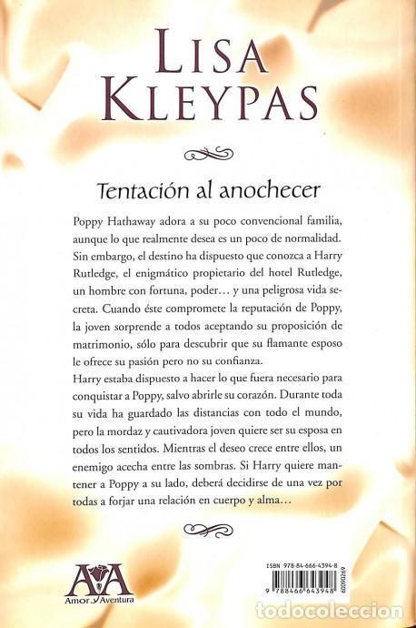 LIBRO TENTACION AL ANOCHECER EBOOK