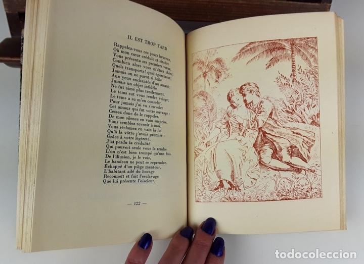 Libros de segunda mano: LE CHEVALIER DE PARNY ET SES POÉSIES ÉROTIQUES. L. DE FORGES. IMP CHANTENAY. 1949. - Foto 5 - 107635155