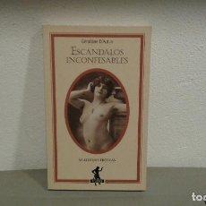 Livros em segunda mão: ESCANDALOS INCONFESABLES DE GERALDINE D'AUTN SELECCIONES EROTICAS COL. SILENO. Lote 110387615
