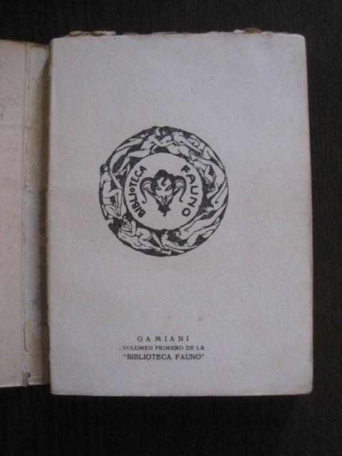 Libros de segunda mano: GAMIANI-DOS NOCHES DE QUIMERA-BIBLIOTECA FAUNO-AÑOS 30- MUCHOS DIBUJOS OXYMEL-VER FOTOS-(V-13.322) - Foto 5 - 110907487