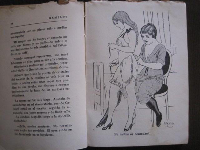 Libros de segunda mano: GAMIANI-DOS NOCHES DE QUIMERA-BIBLIOTECA FAUNO-AÑOS 30- MUCHOS DIBUJOS OXYMEL-VER FOTOS-(V-13.322) - Foto 8 - 110907487