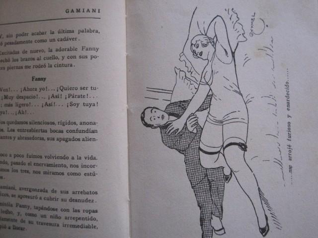 Libros de segunda mano: GAMIANI-DOS NOCHES DE QUIMERA-BIBLIOTECA FAUNO-AÑOS 30- MUCHOS DIBUJOS OXYMEL-VER FOTOS-(V-13.322) - Foto 11 - 110907487
