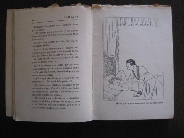 Libros de segunda mano: GAMIANI-DOS NOCHES DE QUIMERA-BIBLIOTECA FAUNO-AÑOS 30- MUCHOS DIBUJOS OXYMEL-VER FOTOS-(V-13.322) - Foto 13 - 110907487