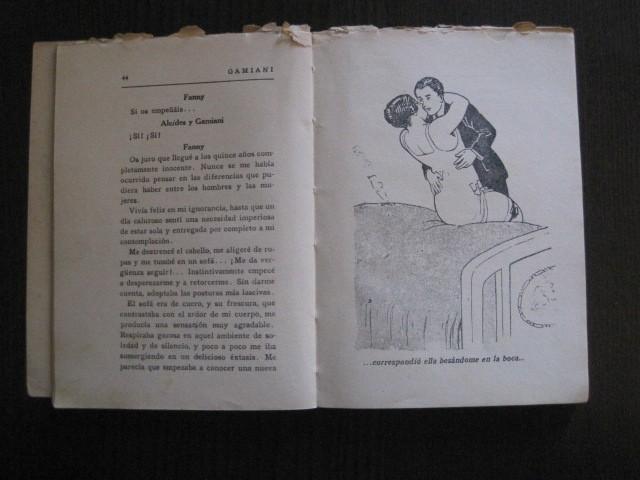 Libros de segunda mano: GAMIANI-DOS NOCHES DE QUIMERA-BIBLIOTECA FAUNO-AÑOS 30- MUCHOS DIBUJOS OXYMEL-VER FOTOS-(V-13.322) - Foto 14 - 110907487