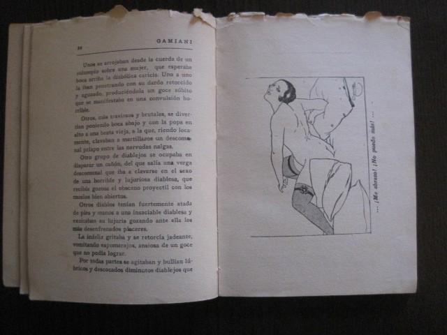Libros de segunda mano: GAMIANI-DOS NOCHES DE QUIMERA-BIBLIOTECA FAUNO-AÑOS 30- MUCHOS DIBUJOS OXYMEL-VER FOTOS-(V-13.322) - Foto 16 - 110907487