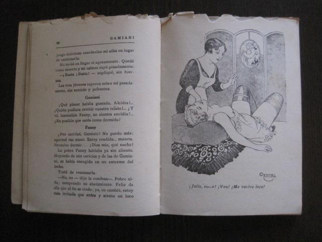 Libros de segunda mano: GAMIANI-DOS NOCHES DE QUIMERA-BIBLIOTECA FAUNO-AÑOS 30- MUCHOS DIBUJOS OXYMEL-VER FOTOS-(V-13.322) - Foto 17 - 110907487