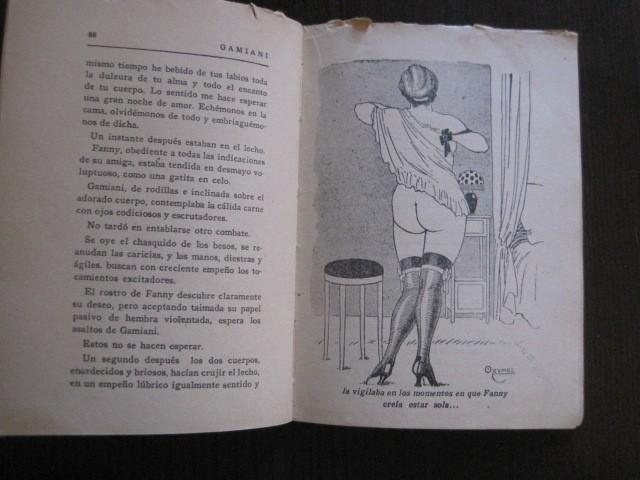 Libros de segunda mano: GAMIANI-DOS NOCHES DE QUIMERA-BIBLIOTECA FAUNO-AÑOS 30- MUCHOS DIBUJOS OXYMEL-VER FOTOS-(V-13.322) - Foto 23 - 110907487