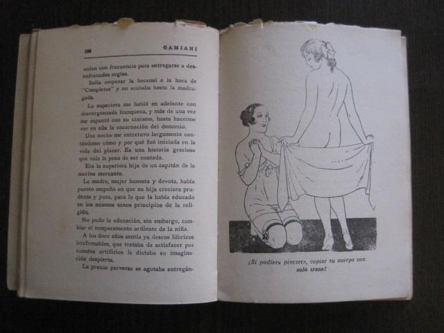 Libros de segunda mano: GAMIANI-DOS NOCHES DE QUIMERA-BIBLIOTECA FAUNO-AÑOS 30- MUCHOS DIBUJOS OXYMEL-VER FOTOS-(V-13.322) - Foto 29 - 110907487