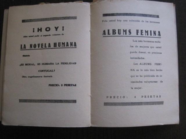 Libros de segunda mano: GAMIANI-DOS NOCHES DE QUIMERA-BIBLIOTECA FAUNO-AÑOS 30- MUCHOS DIBUJOS OXYMEL-VER FOTOS-(V-13.322) - Foto 39 - 110907487