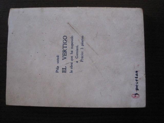 Libros de segunda mano: GAMIANI-DOS NOCHES DE QUIMERA-BIBLIOTECA FAUNO-AÑOS 30- MUCHOS DIBUJOS OXYMEL-VER FOTOS-(V-13.322) - Foto 42 - 110907487