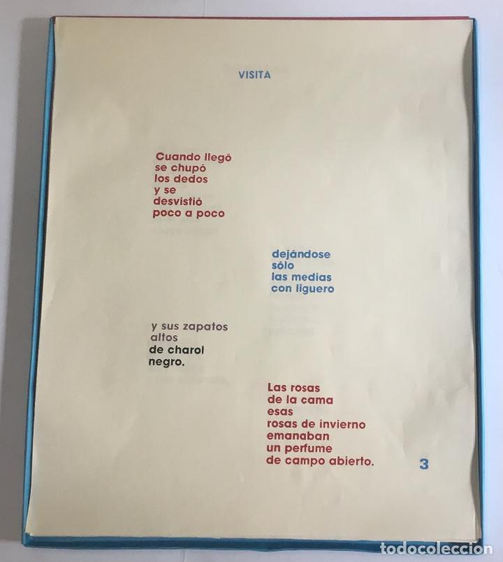 Libros de segunda mano: HISTORIAS DE AMOR. GÓNGORA, Leonel. EDICIÓN DE 30 EJEMPLARES. ERÓTICA. - Foto 5 - 114282343