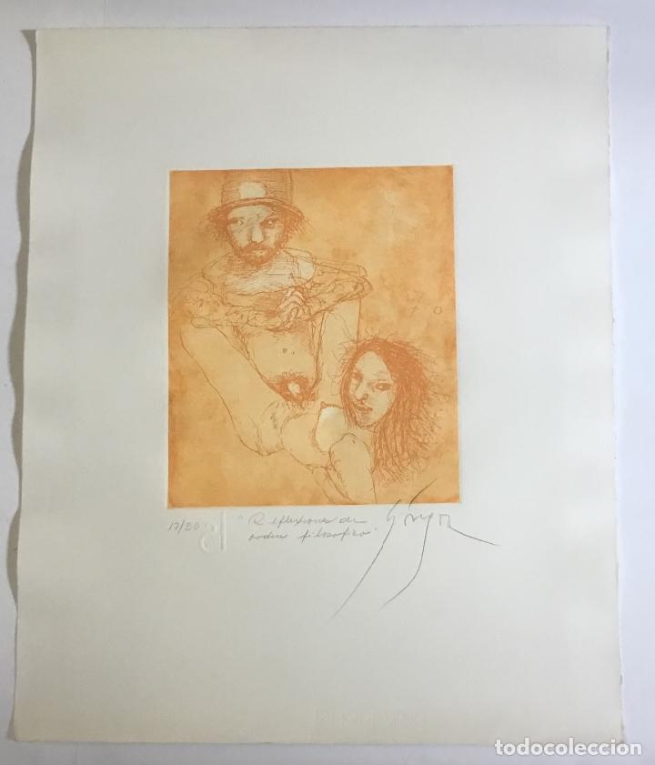 Libros de segunda mano: HISTORIAS DE AMOR. GÓNGORA, Leonel. EDICIÓN DE 30 EJEMPLARES. ERÓTICA. - Foto 11 - 114282343