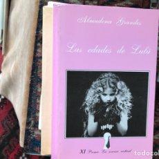 Libros de segunda mano: LAS EDADES DE LULÚ.ALMUDENA GRANDES. Lote 114322780