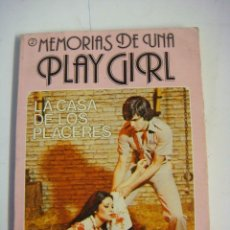 Libros de segunda mano: NOVELA EROTICA LA CASA DE LOS PLACERES. Lote 115406739