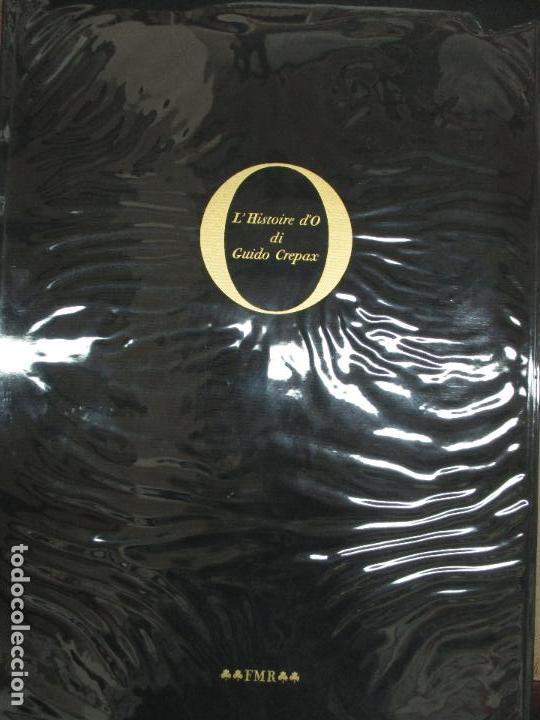 Libros de segunda mano: LHISTOIRE DO. CREPAX, Guido. 1975. Ed. NUMERADA Y FIRMADA. Erótica. Sadomasoquismo. BDSM. - Foto 2 - 117054627
