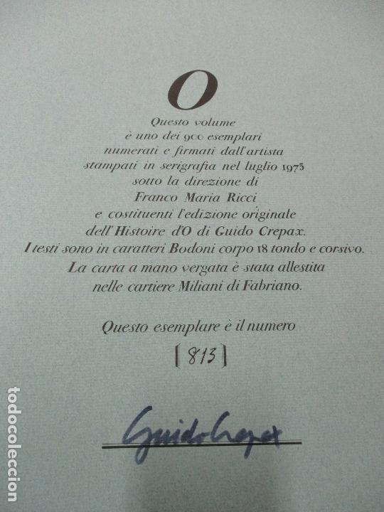 Libros de segunda mano: LHISTOIRE DO. CREPAX, Guido. 1975. Ed. NUMERADA Y FIRMADA. Erótica. Sadomasoquismo. BDSM. - Foto 6 - 117054627