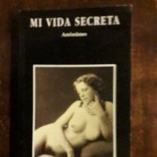Libros de segunda mano: LIBRO MI VIDA SECRETA. Lote 117115903