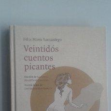 Livres d'occasion: VEINTIDÓS CUENTOS PICANTES /FÉLIX MARÍA SAMANIEGO/EDIT: PEPITAS DE CALABAZA. Lote 118184239