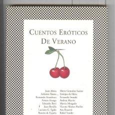 Libros de segunda mano: CUENTOS ERÓTICOS DE VERANO. ED. TUSQUETS 2007. LIBRO NUEVO. Lote 118229359