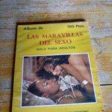 Libros de segunda mano: ÁLBUM LAS MARAVILLAS DEL SEXO COLECCIÓN KAMASUTRA SUSANA ESTRADA SIMILAR AL DE LA FOTO.. Lote 286578703