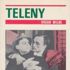 Libros de segunda mano: TELENY. OSCAR WILDE. Lote 121659643