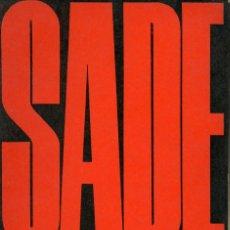 Libros de segunda mano: EL PRESIDENTE BURLADO - SADE - RODOLFO ALONSO EDITOR 1968. Lote 121731195
