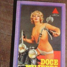 Libros de segunda mano: LIBRO DOCE MUJERES ALVIN JONES 1978 EBSA L-11029-357. Lote 122118547