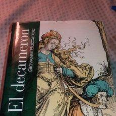 Libros de segunda mano: EL DECAMERON DE GIOVANNI BOCCACCIO. Lote 128492931