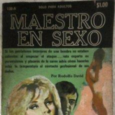 Libros de segunda mano: COLECCION PIMIENTA N°130-A MAESTRO EN SEXO. Lote 129721911