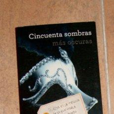 Libros de segunda mano: CINCUENTA SOMBRAS MÁS OSCURAS EL JAMES . Lote 130290418