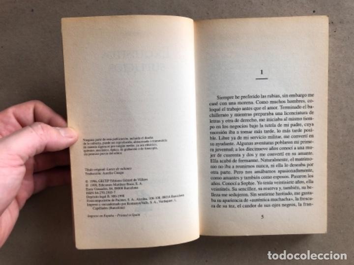 Libros de segunda mano: DULCES FLAGELACIONES (ANÓNIMO) Y EXQUISITOS SUPLICIOS (DANIEL REY). 2 LIBROS SELECCIONES ERÓTICAS. - Foto 7 - 131936622
