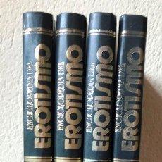 Livres d'occasion: ENCICLOPEDIA DEL EROTISMO -- CAMILO JOSE CELA -- 4 VOLUMENES TOMOS -- COMPLETA. Lote 133574930