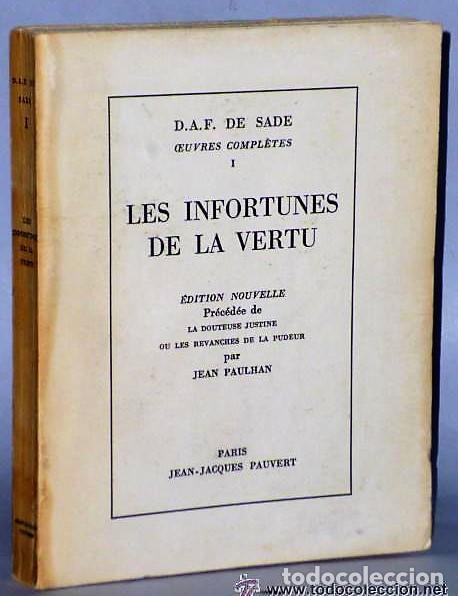 LES INFORTUNES DE LA VERTU (Libros de Segunda Mano (posteriores a 1936) - Literatura - Narrativa - Erótica)