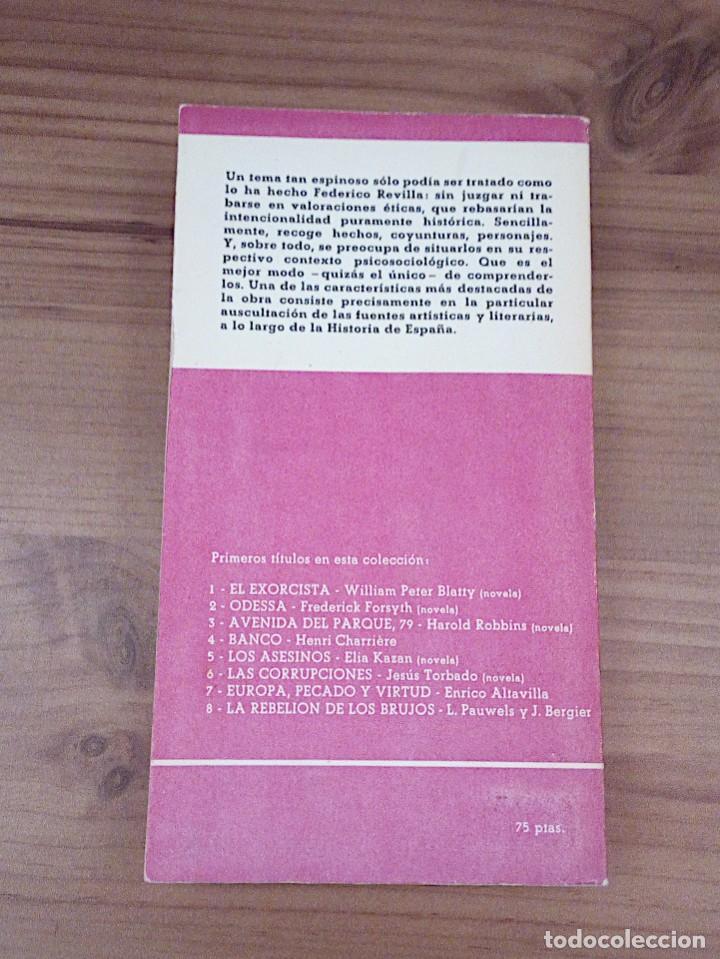 Libros de segunda mano: EL SEXO EN LA HISTORIA DE ESPAÑA. REVILLA, FEDERICO. PLAZA & JANES. 1 ª ED. 1975 - Foto 4 - 137365966