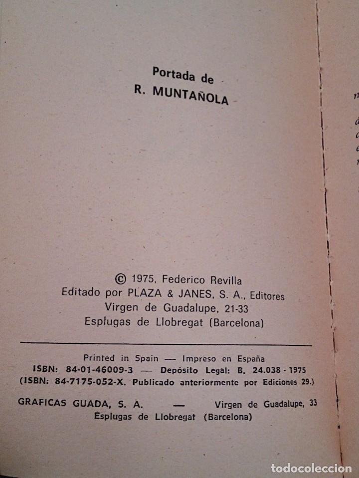 Libros de segunda mano: EL SEXO EN LA HISTORIA DE ESPAÑA. REVILLA, FEDERICO. PLAZA & JANES. 1 ª ED. 1975 - Foto 5 - 137365966