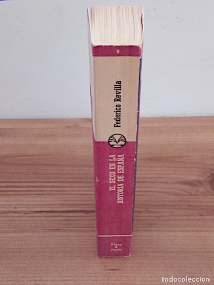 Libros de segunda mano: EL SEXO EN LA HISTORIA DE ESPAÑA. REVILLA, FEDERICO. PLAZA & JANES. 1 ª ED. 1975 - Foto 6 - 137365966