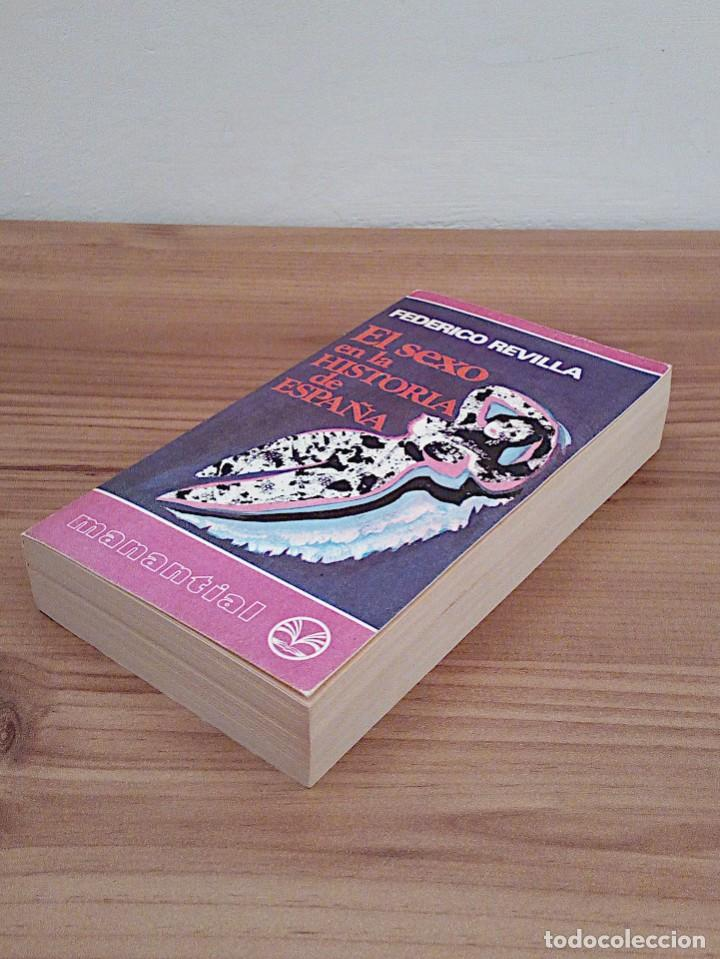 Libros de segunda mano: EL SEXO EN LA HISTORIA DE ESPAÑA. REVILLA, FEDERICO. PLAZA & JANES. 1 ª ED. 1975 - Foto 7 - 137365966