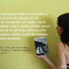 Libros de segunda mano: FELIO, DE M. J. ZAPATER, CON PRÓLOGO DEL CINEASTA JAVIER BARAJAS. Lote 178840440