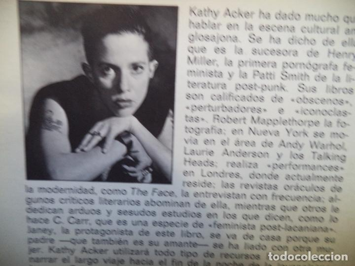 Libros de segunda mano: ABORTO EN LA ESCUELA KATHY ACKER EDITORIAL ANAGRAMA.CONTRASEÑAS - Foto 2 - 145711610