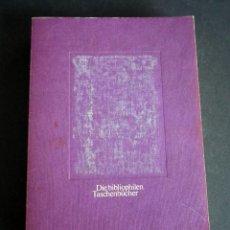 Libros de segunda mano: DIE BIBLIOPHILEN. TASCHENBÜCHER. 1982.. Lote 146079182