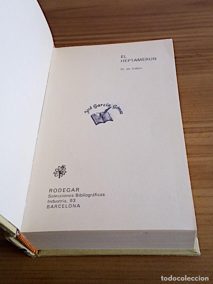 Libros de segunda mano: EL HEPTAMERÓN. DE VALOIS, M. GASSO HNOS. 1971 - Foto 3 - 147406890