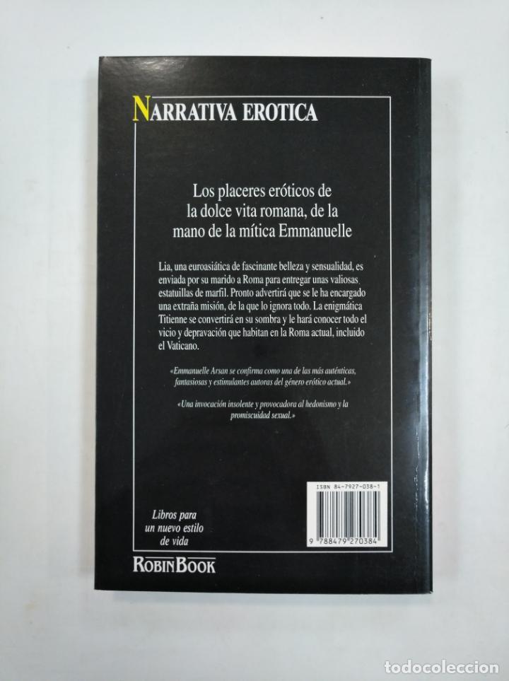 Libros de segunda mano: LA MISION. EMMANUELLE ARSAN. ROBIN BOOK. NARRATIVA EROTICA. TDK359 - Foto 2 - 147437626