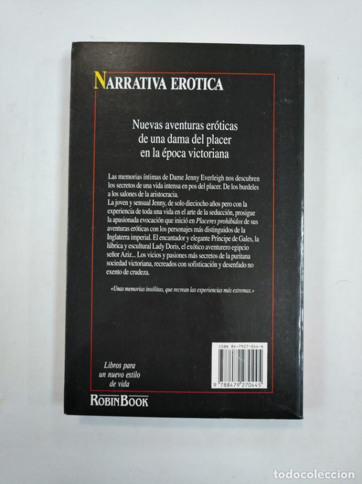 Libros de segunda mano: EPOCA DE PLACERES. DAME JENNY EVERLEIGH. ROBIN BOOK. NARRATIVA EROTICA. TDK359 - Foto 2 - 147438074