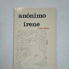 Libros de segunda mano: ANONIMO. IRENE. LOS BRAZOS DE LUCAS Nº 13. TDK359. Lote 147444258