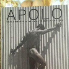 Libros de segunda mano: APOLO, OBRAS MAESTRAS DE LA FOTOGRAFIA EROTICA, MICHELLE OLLEY. Lote 149666990