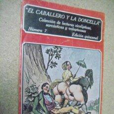 Libros de segunda mano: EL CABALLERO Y LA DONCELLA Nº 7. Lote 151440550