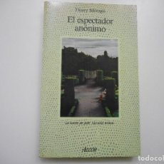 Livros em segunda mão: FLEURY MÉROGIS EL ESPECTADOR ANÓNIMO Y92695. Lote 153058234