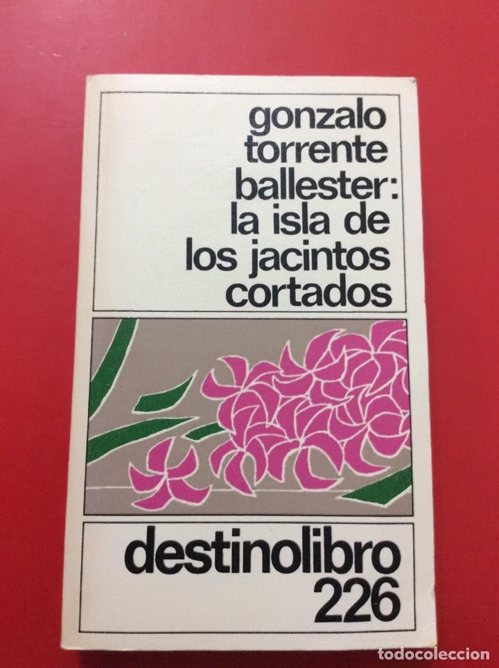 LA ISLA DE LOS JACINTOS CORTADOS. GONZALO TORRENTE BALLESTER. 1984. (Libros de Segunda Mano (posteriores a 1936) - Literatura - Narrativa - Erótica)